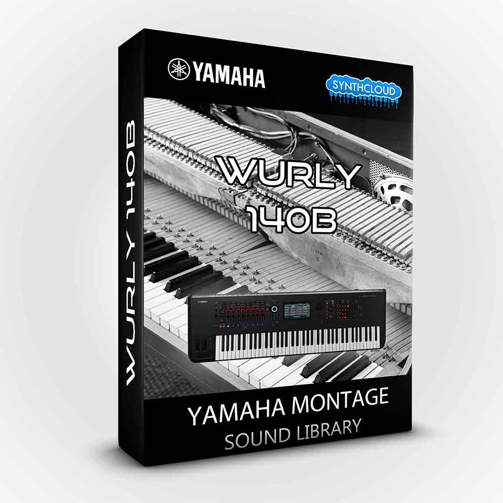 SCL192 - Wurly 140B Electric Piano - Yamaha MONTAGE