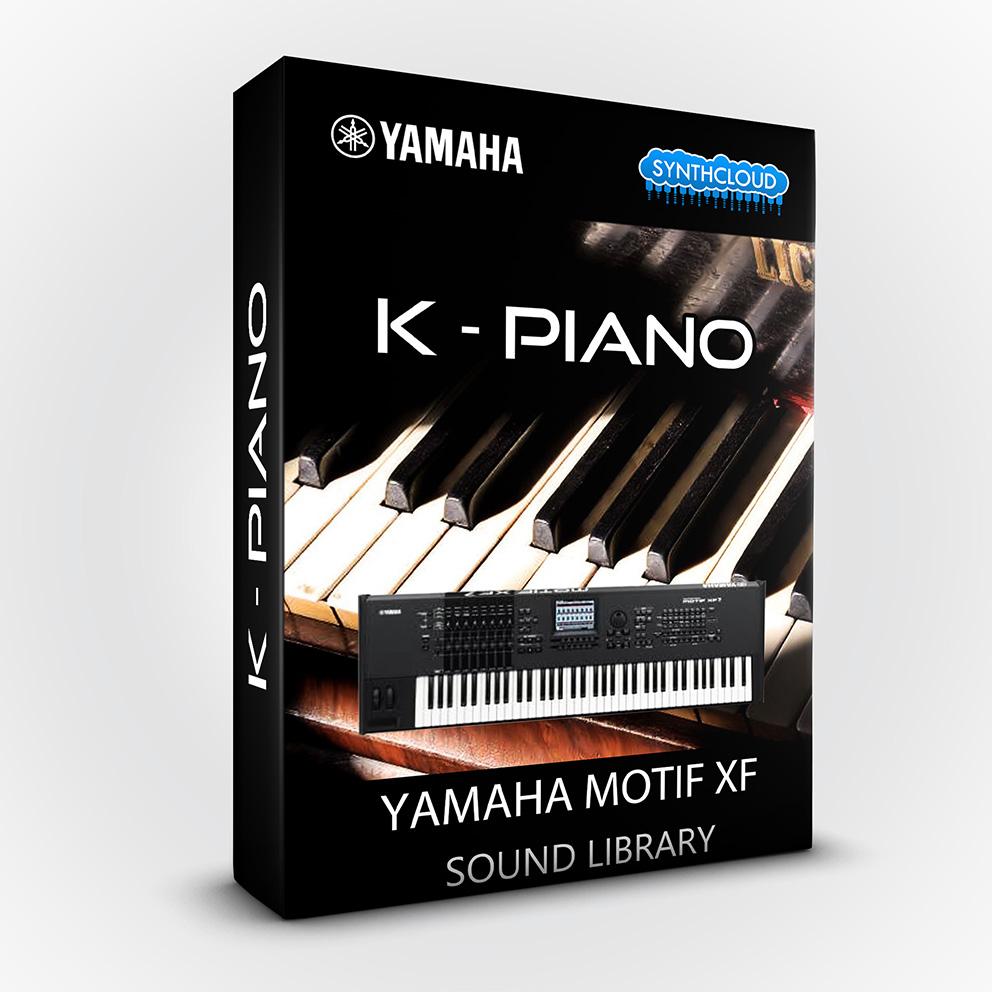 LDX129 - K - Piano - Yamaha Motif XF