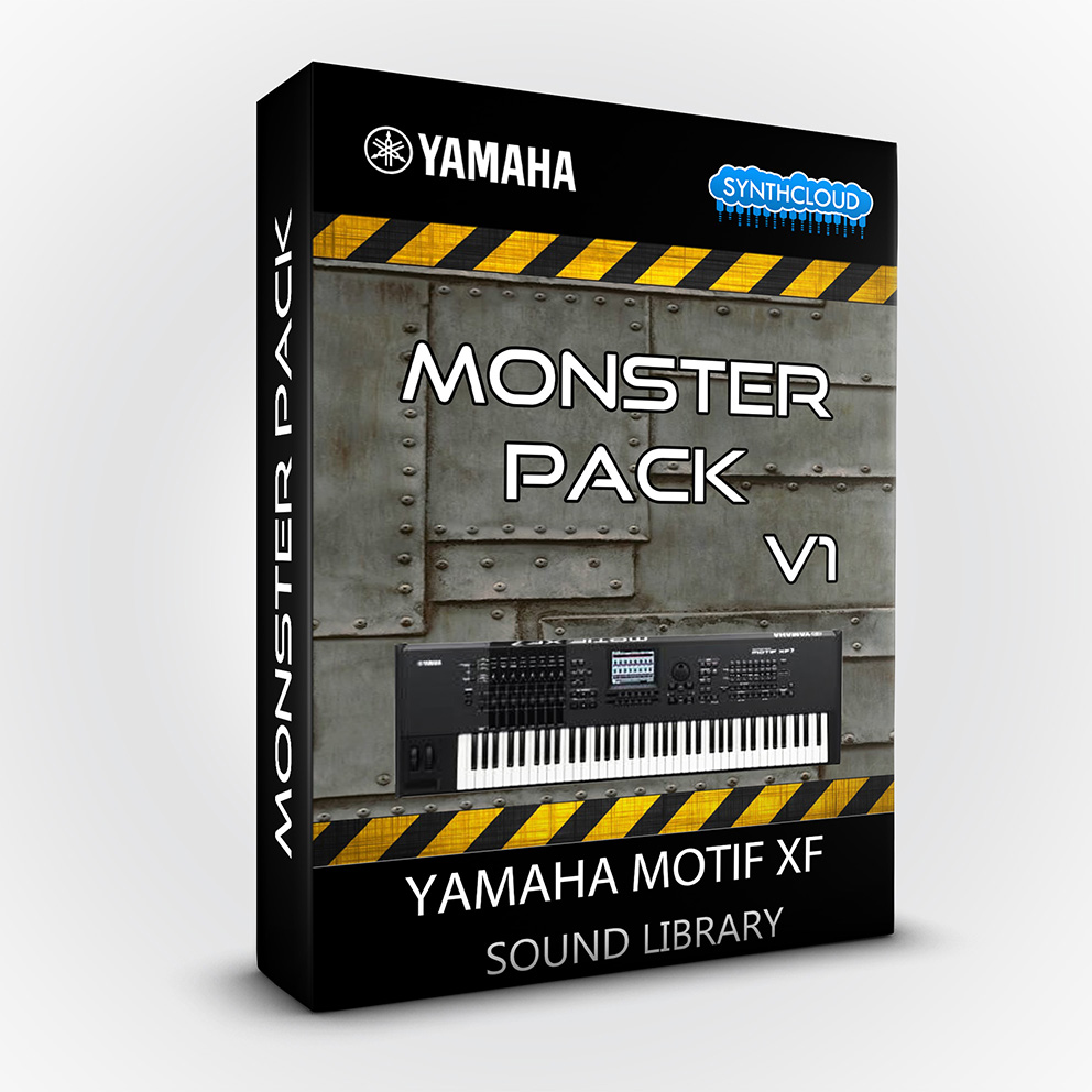 LDX123 - Monster Pack V.1 - Yamaha Motif XF