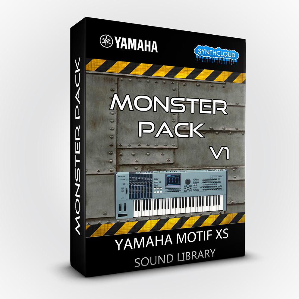 LDX123 - Monster Pack V.1 - Yamaha Motif XS