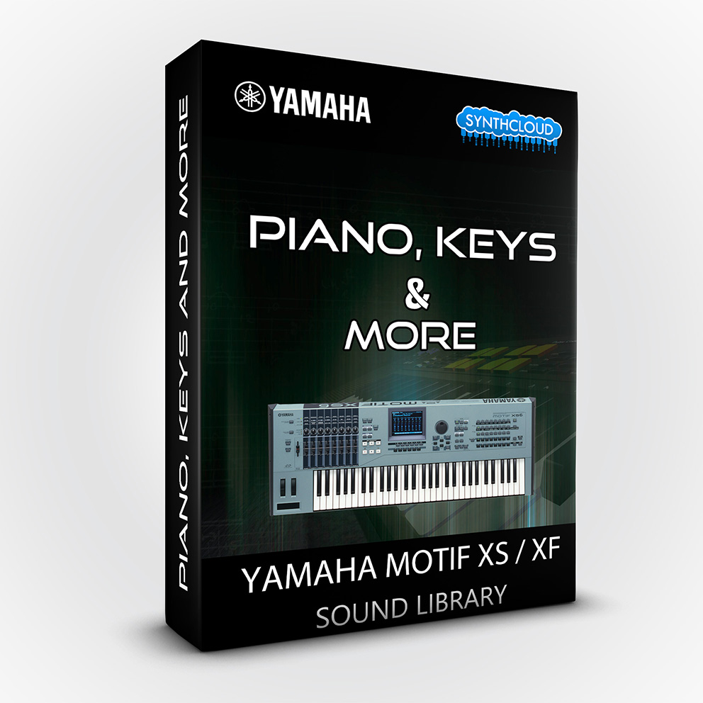 SCL130 - Piano Keys & More - Yamaha Motif XS / XF