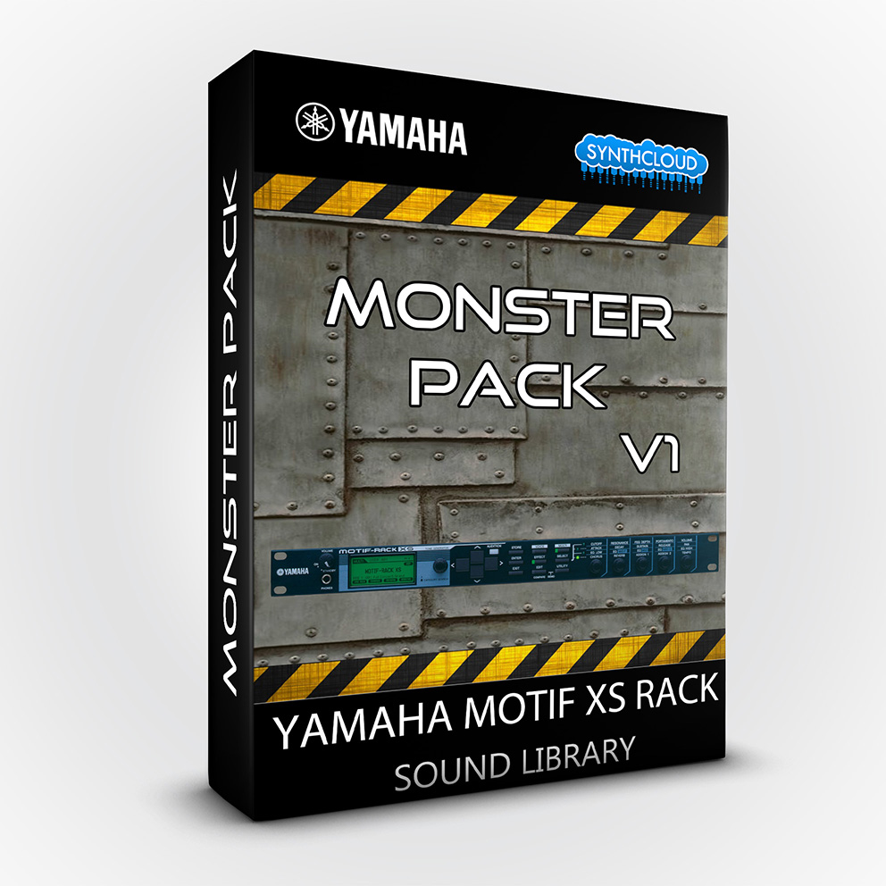 LDX123 - Monster Pack V.1 - Yamaha Motif XS Rack