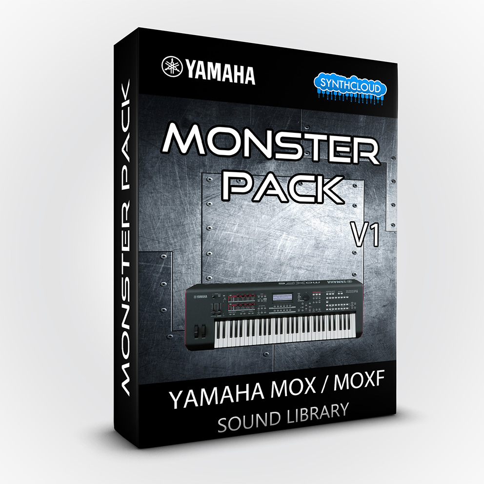 LDX123 - Monster Pack V.1 - Yamaha MOX / MOXF