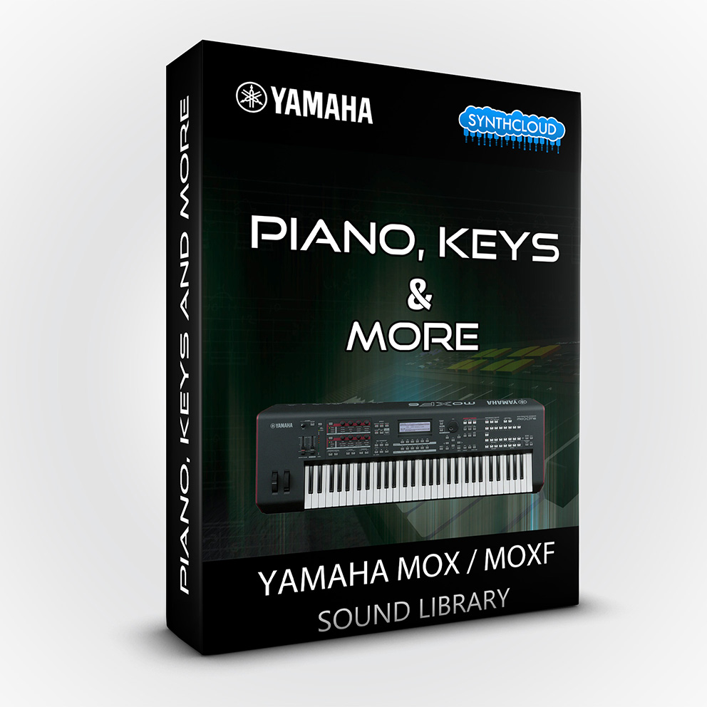 SCL130 - Piano Keys & More - Yamaha MOX / MOXF