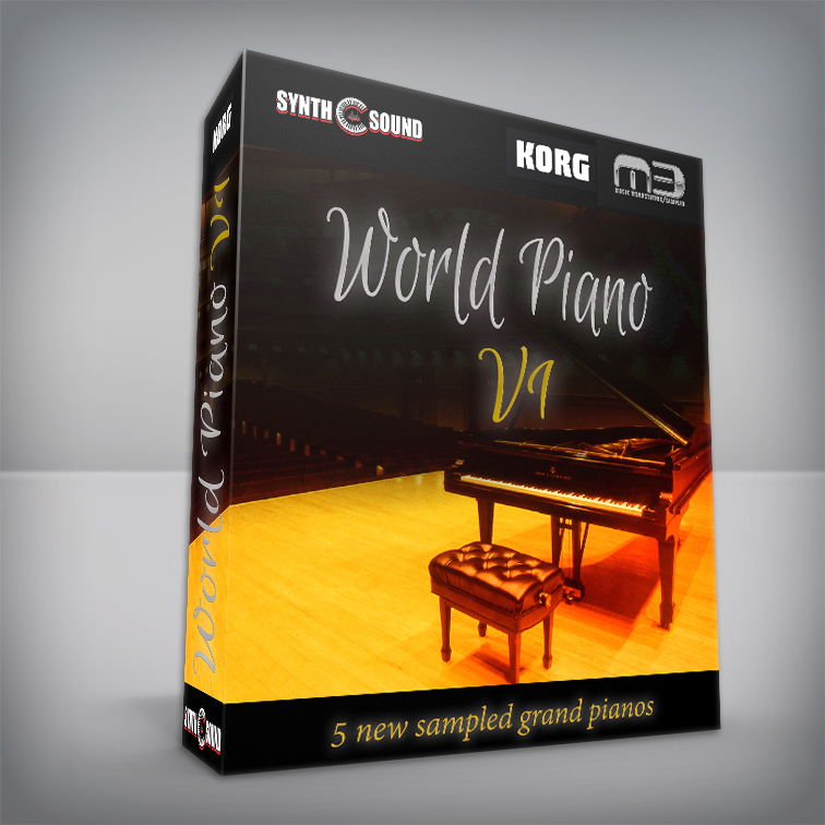 World Piano V1 - Korg M3 Series