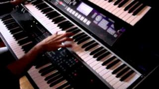 Riot in the Dungeons Keyboard solo