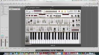 LuSH-101 sound programming
