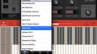 Thor for iPad - a quick tour around the presets