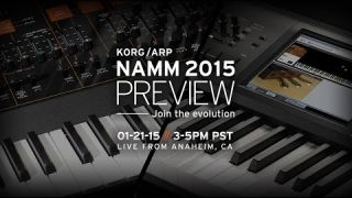Korg 2015 Launch Event