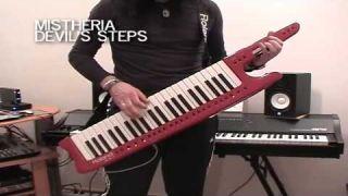 Mistheria Keytar Masterclass - Keyboard Solo Shredding Tecniques V1 ( Synthonia - Master - Lessons )