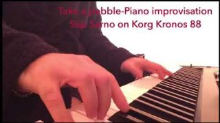 Take a pebble/piano improvisation on Korg Kronos 88 by Sep Sarno