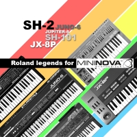Roland legends for Novation Mininova and Ultranova