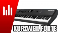 Kurzweil Forte stage piano jamming by S4K ( Synthonia - Performer )