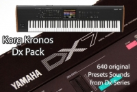 DX Synth Pack - Korg Kronos / X / 2