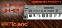 Jamming on Roland JX-10