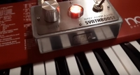 Stef Angiulli's SYNTHBOOST - Svisound Custom Pedal (Stereo Clean Boost)