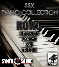 SSX-004 G-Piano Collection - Korg Triton series