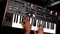 Dave Smith Instruments OB-6 jamming by Alex Di Donna ( Synthonia - Performer )